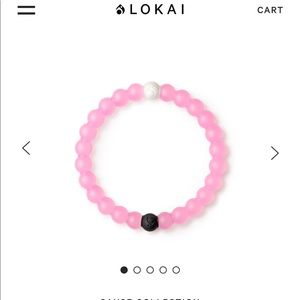 2 Pink Breast Cancer Support Lokai Bracelets
